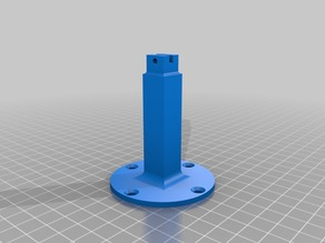 Micro motor (1103 1104 1105 brushless) (6/7/8 mm coreless) thrust test stand