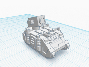 Space Marine Hunter Tank for Epic 40k (6mm Scale)