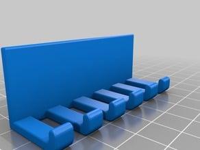 Cable management designed for IKEA Skarsta desk