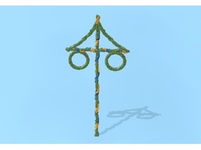 Midsummer Pole (H0 scale or bigger)