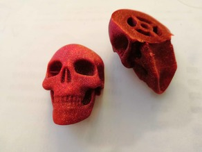 Skull guitar knob