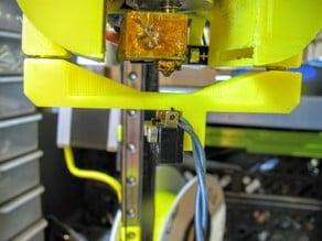 Detachable z-probe for Kossel fan holder by marbalon
