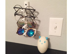 Eye glasses holder - Wall mounted