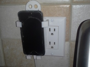 cell phone wall plate smiley