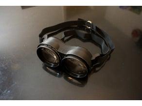 Stargazing owl eyes, 2x magnification astronomy binoculars