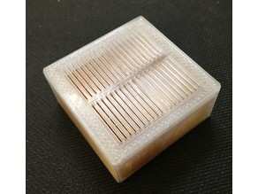 Small Dessicant Box with Sliding Lid and Catch