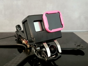Marmotte GoPro Hero mount (TBS ND filter compatible)