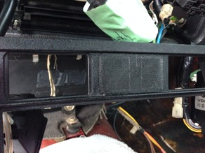 Switch Blank for BMW vehicle