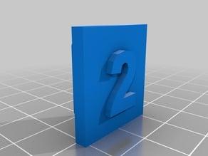 EZ-Robot Number Clips