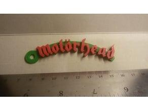 Motorhead Logo Keychain
