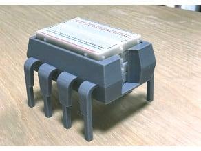 8-Pin IC/Microcontroller - Breadboard Rack