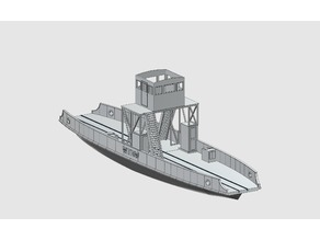 HO scale Ferry Wittow