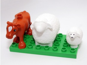 Wooly Sheep Duplo mini & MAXI