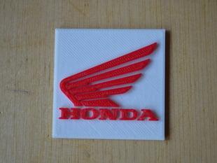 The Honda logo for motor bikes