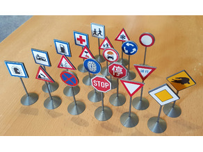 Traffic Sign Models