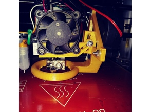 Remix for Part Cooling Fan on Right of FT 2020 i3