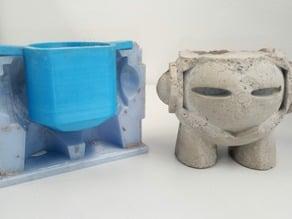 Concrete Marvin Mold