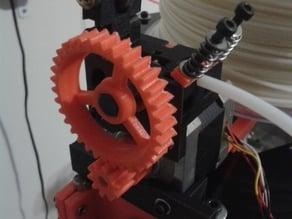 Kuro's Compact Bowden Geared Extruder