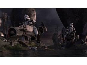 Star Wars Battlefront 3 BARC Speeder