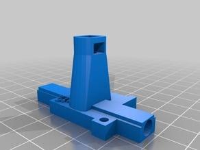 Filament width sensor (top) bowden
