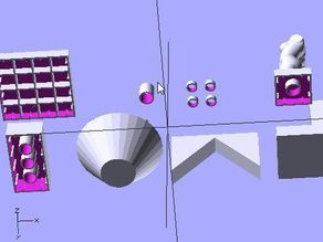 Doblo factory - OpenScad modules for building lego-compatible structures