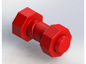 Self-Reversing Nut & Bolt