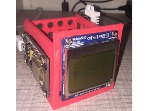 NodeMCU ESP8266 + LCD nokia 5110 + DHT22