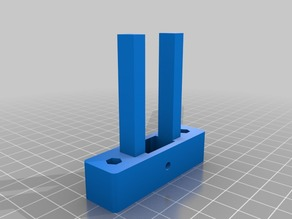 Z-axis belt tensioner with larger anti-squeaking pulley seat.