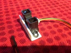 Sharp GP2Y0A02YK0F IR Range Sensor Mounting Plate