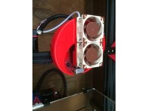 Support Alfawise U30 - 2 ventilateur 40 x 40