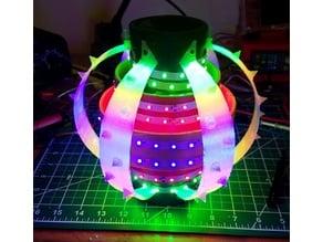 Jellyfish Lantern with Cardboard Tubes