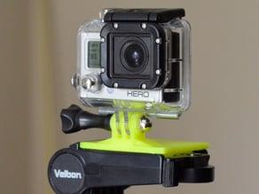 GoPro Velbon Tripod mount