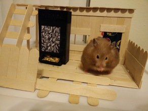 Hamster Vending Machine (Syrian Hamster Sized Feeder)