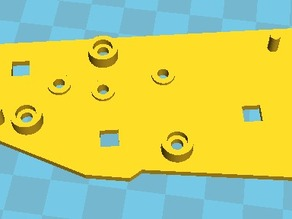 Roomba 500/SE Series Gearbox cover