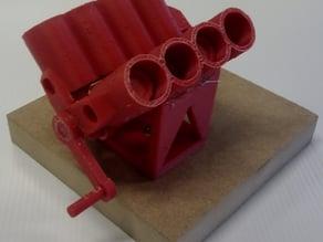 Printable V8 motor Stand