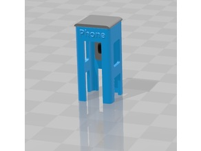 Payphone H0 scale