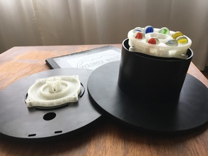 Filament Spool Spray Paint Turntable!