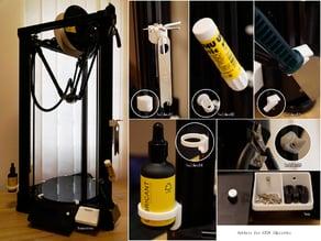 Holders for ATOM 3Dprinter