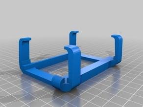 raspberry 1 cover clip for BQ hephestos 2 3D printer