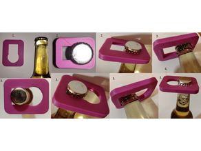 Beer bottle plop opener