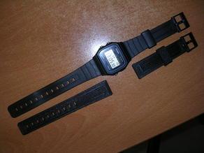 CASIO F-91W watch strap - FLEXISMART