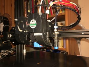 CR-10(S) E3D Titan Direct Drive Extruder Mount for V6 adaption