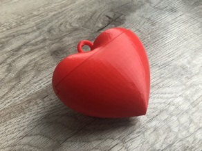 Valentine's Day Heart Box with Magnets