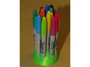 Sharpie Holder - 12 Pens