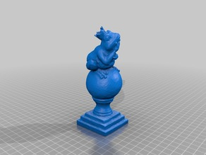 King Frog 3D Scan