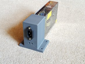 120w Power Supply Cover Vertical Bottomless