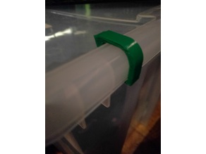 Lid clips for the big IKEA SAMLA storage boxes