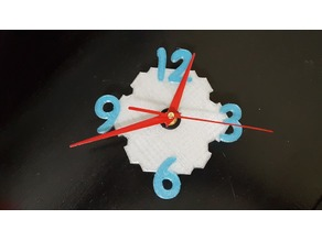 Wall Clock - Single or Dual color layer