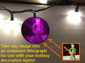 Ornament Customizable Lithopane!