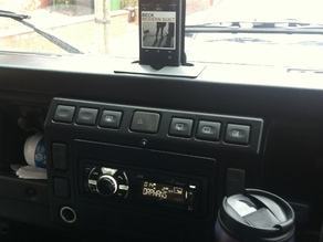 Dash Mounted iPhone Holder